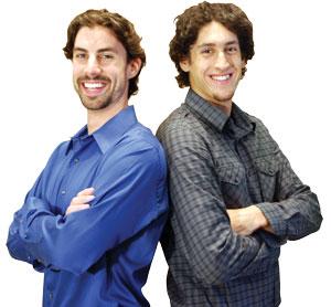 Daniel and Aaron